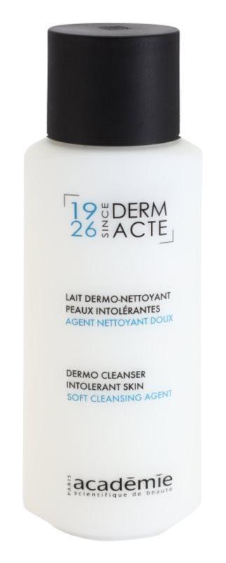 Academie Derm Acte Intolerant Skin нежно почистващо мляко за лице и очи