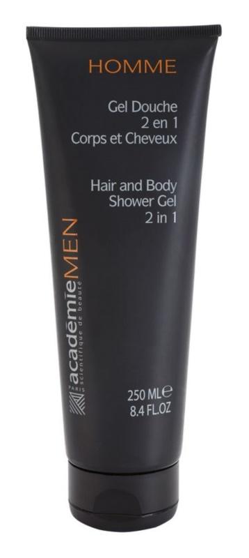 Académie Men gel de douche corps et cheveux 2 en 1