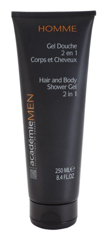 Academie Men gel de ducha para cabello y cuerpo 2 en 1