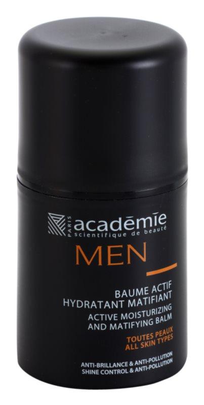 Academie Men активен хидратиращ балсам   с матиращ ефект