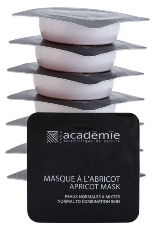Academie Normal to Combination Skin maschera rinfrescante all'albicocca