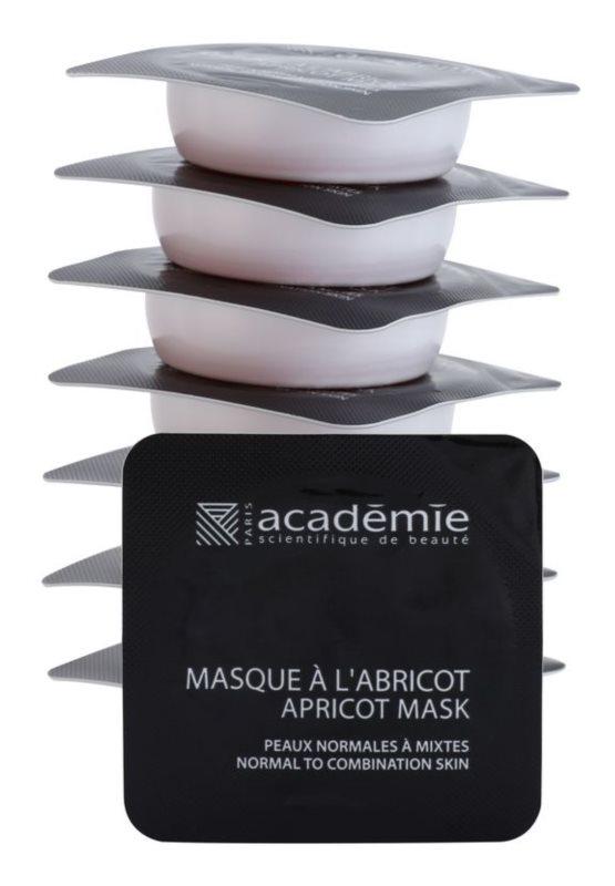 Academie Normal to Combination Skin osviežujúca marhuľová maska