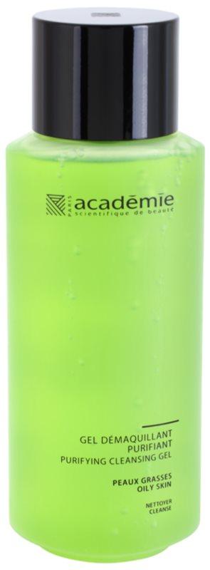 Academie Oily Skin gel struccante detergente