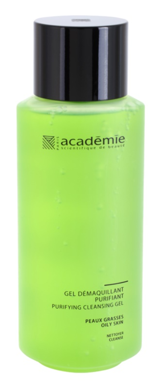 Academie Oily Skin очищуючий гель для зняття макіяжу