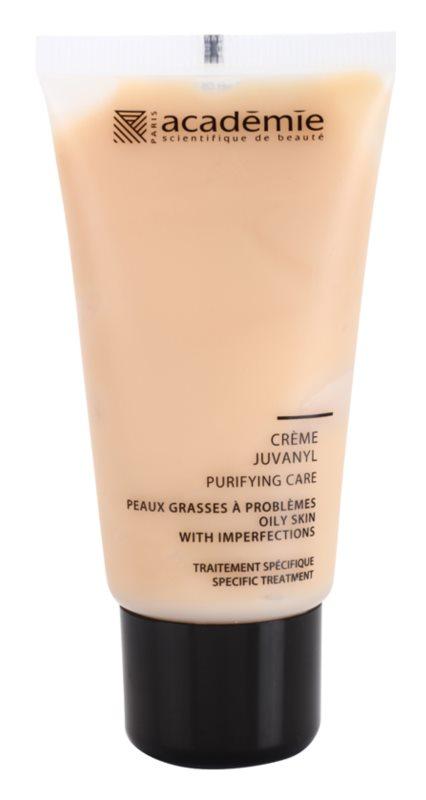 Academie Oily Skin crema de día y noche normalizante y matificante