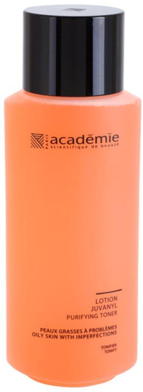 Academie Oily Skin tisztító tonik a bőrhibákra