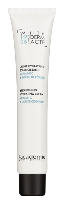 Academie Derm Acte Whitening crema idratante illuminante con vitamina C