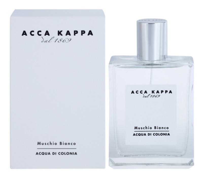 Acca Kappa Muschio Bianco eau de Cologne mixte 100 ml