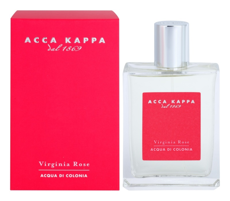 Acca Kappa Virginia Rose acqua di Colonia per donna 100 ml