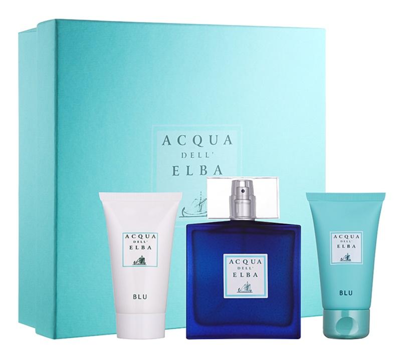 Acqua dell' Elba Blu Men poklon set IV.