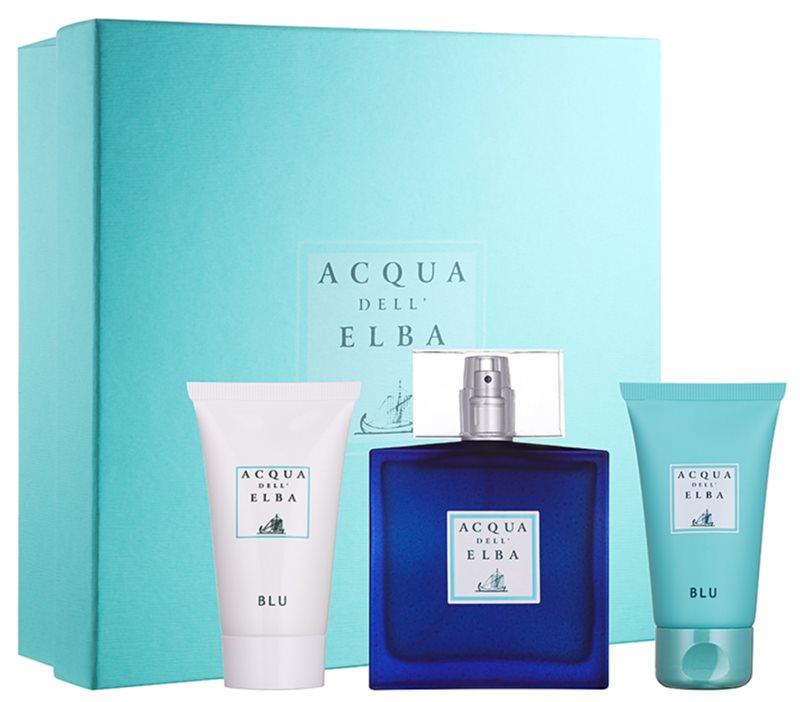 Acqua dell' Elba Blu Men zestaw upominkowy IV.