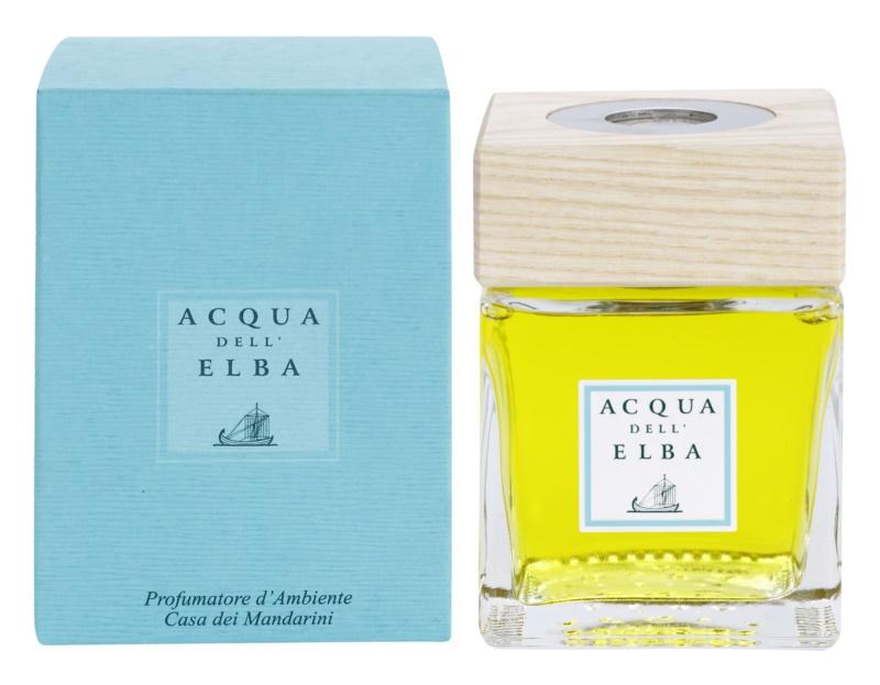 Acqua dell' Elba Casa dei Mandarini Aroma Diffuser With Refill 200 ml