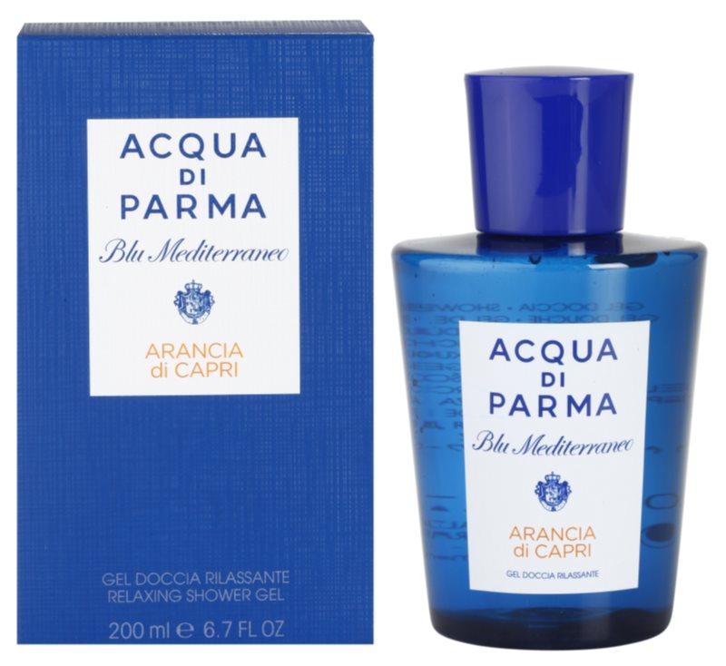 Acqua di Parma Blu Mediterraneo Arancia di Capri душ гел унисекс 200 мл.