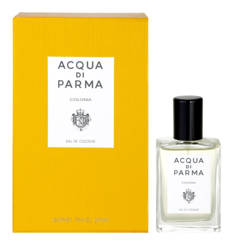 Acqua di Parma Colonia eau de Cologne mixte 30 ml + trousse en cuir