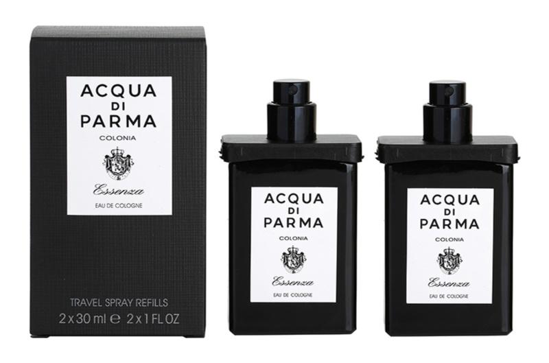 Acqua di Parma Colonia Colonia Essenza eau de Cologne pour homme 2x30 ml (2x recharge avec vaporisateur)