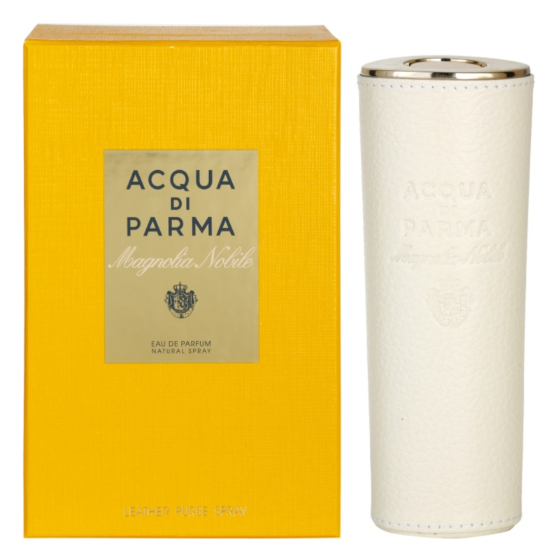 Acqua di Parma Nobile Magnolia Nobile parfumska voda za ženske 20 ml + usnjen etui (za ponovno polnjenje)