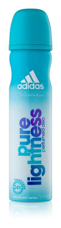 Adidas Pure Lightness deospray per donna 75 ml