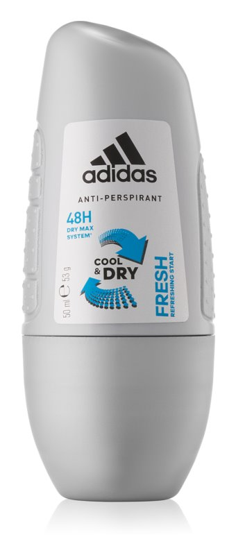 Adidas Fresh Cool & Dry deo-roll-on za moške 50 ml