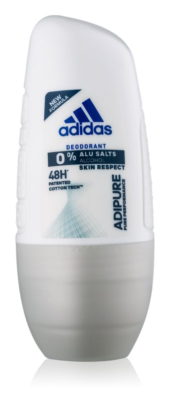 Adidas Adipure deodorante roll-on per donna 50 ml