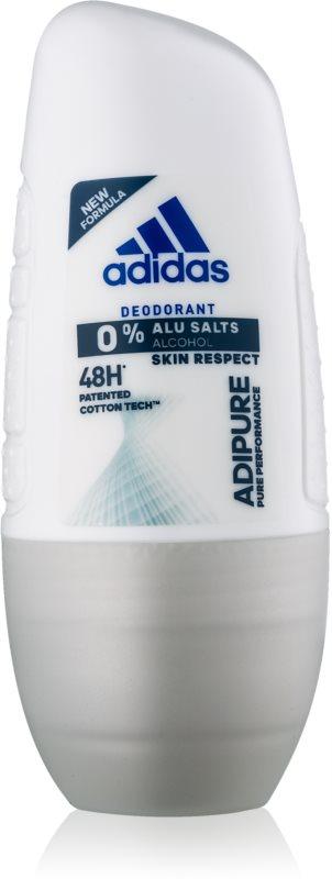 Adidas Adipure Αποσμητικό roll-on για γυναίκες 50 μλ