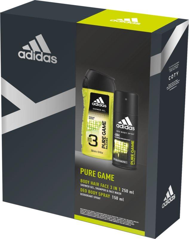 Adidas Pure Game confezione regalo I.