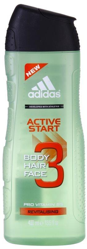 Adidas 3 Active Start (New) żel pod prysznic dla mężczyzn 400 ml