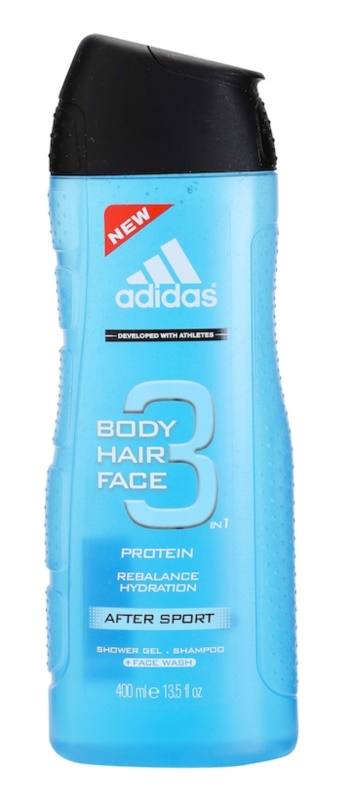 Adidas 3 After Sport Shower Gel for Men 400 ml
