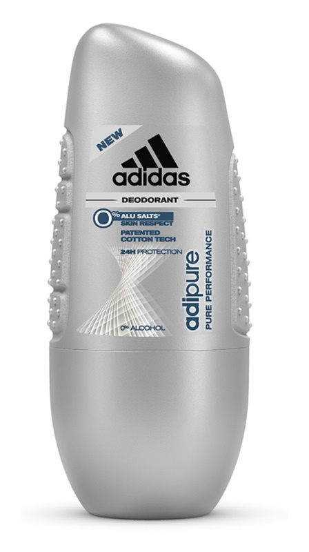 Adidas Adipure deodorante roll-on per uomo 50 ml