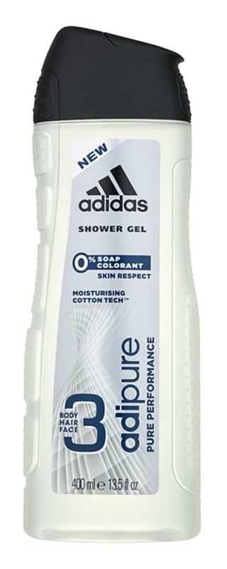 Adidas Adipure gel doccia per uomo 400 ml