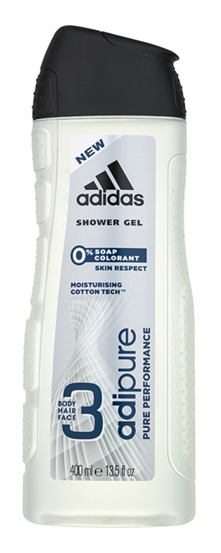 Adidas Adipure gel douche pour homme 400 ml