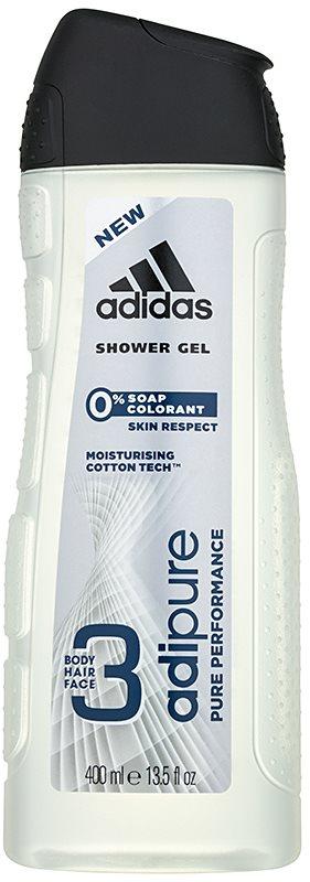 Adidas Adipure Shower Gel for Men 400 ml