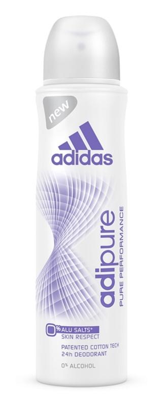 Adidas Adipure dezodorant w sprayu dla kobiet 150 ml