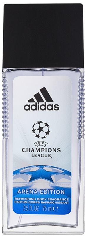 Adidas UEFA Champions League Arena Edition desodorante con pulverizador para hombre 75 ml