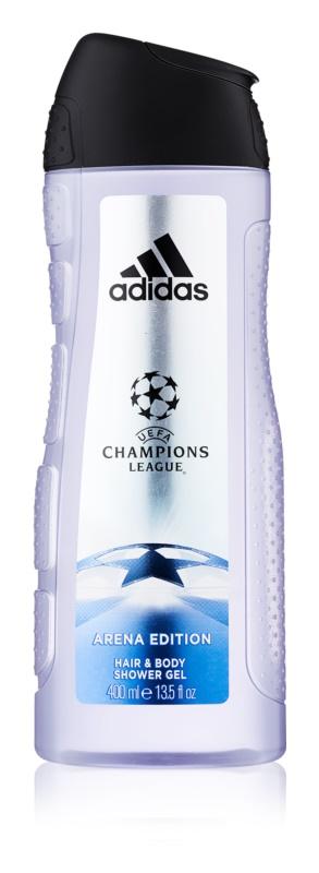 Adidas UEFA Champions League Arena Edition żel pod prysznic dla mężczyzn 400 ml