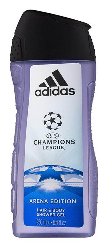 Adidas UEFA Champions League Arena Edition gel douche pour homme 250 ml