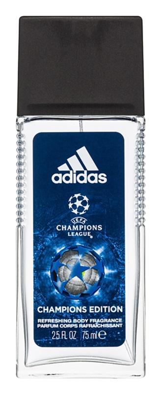 Adidas UEFA Champions League Champions Edition deodorante con diffusore per uomo 75 ml
