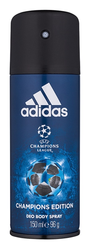 Adidas UEFA Champions League Champions Edition Deo Spray voor Mannen 150 ml