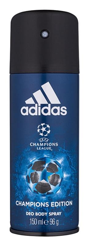 Adidas UEFA Champions League Champions Edition deospray per uomo 150 ml