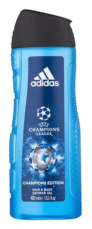 Adidas UEFA Champions League Champions Edition Douchegel voor Mannen 400 ml