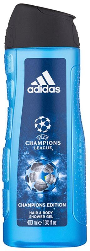 Adidas UEFA Champions League Champions Edition tusfürdő férfiaknak 400 ml