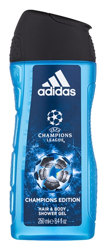 Adidas UEFA Champions League Champions Edition gel douche pour homme 250 ml