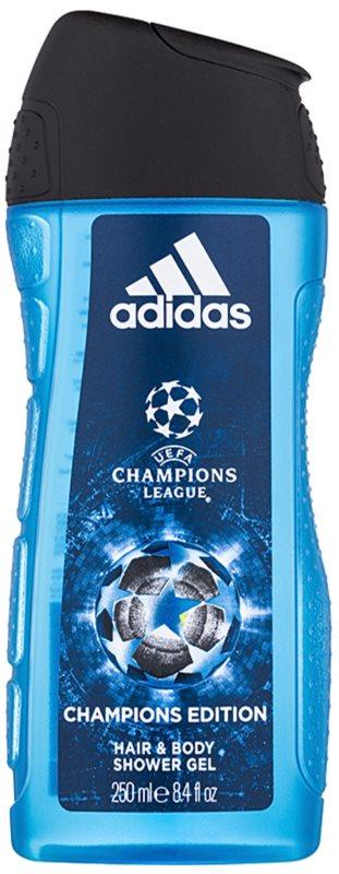 Adidas UEFA Champions League Champions Edition tusfürdő férfiaknak 250 ml
