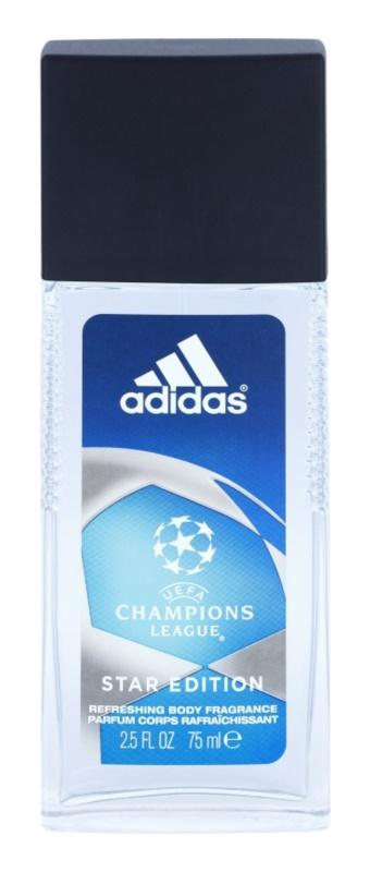 Adidas Champions League Star Edition deodorant s rozprašovačem pro muže 75 ml