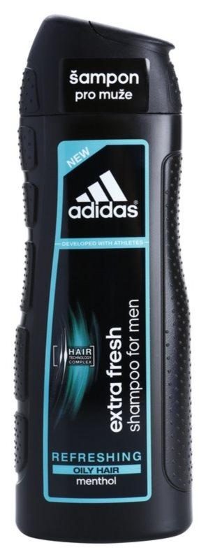 Adidas Extra Fresh erfrischendes Shampoo für fettiges Haar