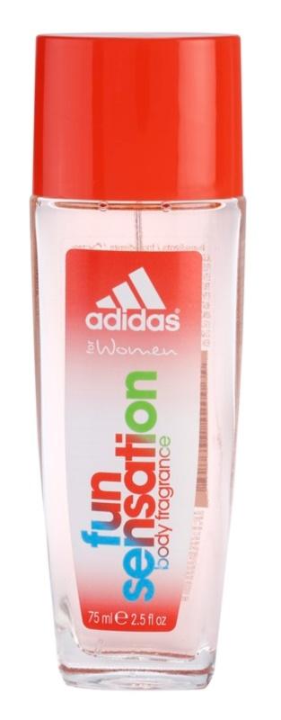Adidas Fun Sensation Deo mit Zerstäuber für Damen 75 ml