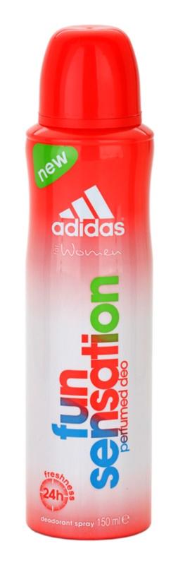 Adidas Fun Sensation Αποσμητικό σε σπρέι για γυναίκες 150 μλ