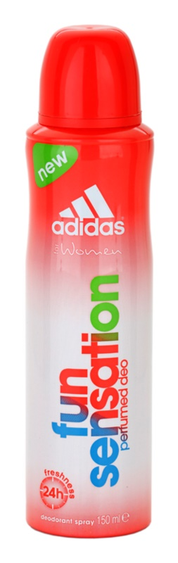 Adidas Fun Sensation déo-spray pour femme 150 ml