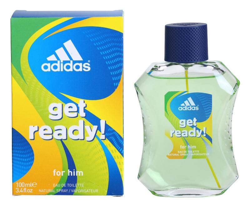 Adidas Get Ready! Eau de Toilette for Men 100 ml