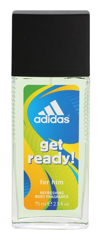 Adidas Get Ready! Perfume Deodorant for Men 75 ml