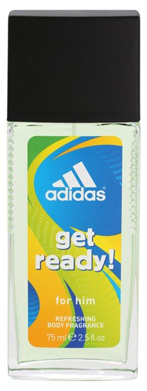 Adidas Get Ready! spray dezodor férfiaknak 75 ml
